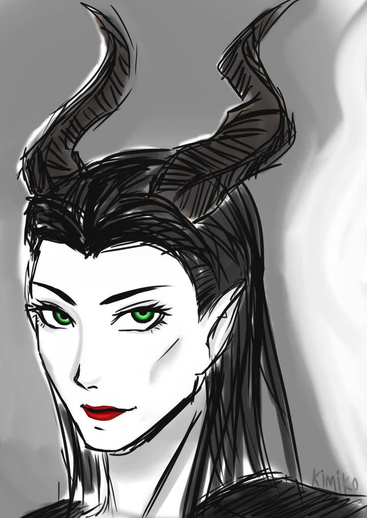 Disney Maleficent by kurokim97