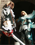 Soul Calibur IV - Siegfried and Raphael Cosplay by brunolaiho