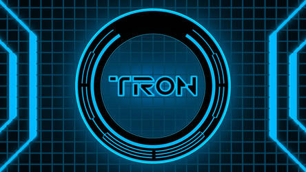 Tron Wallpaper - Blue by MacsForever