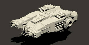Assault Fighter - no desg. yet by Jarndahusky