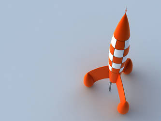 Tintin rocket by element05