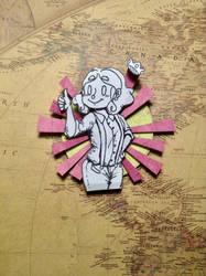 PinkStickyNote! 3D Inspiration by Alicia-Imagination