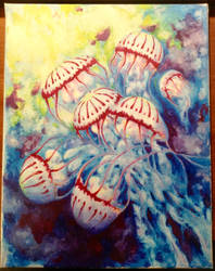 Jellyfish Cosmos by Alicia-Imagination
