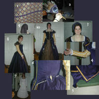 Elizabethan noblewoman's garb by Luthy-star