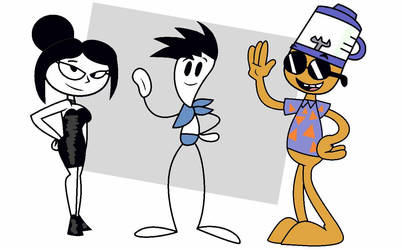 AT: The Scribblers by canned-peaches