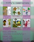Commission Sheet - CLOSED by AquaTiffy