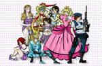 Game Girls by labrattish
