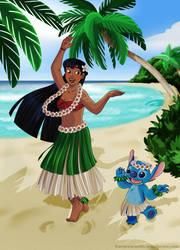 Aloha ! by KororoArt