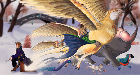 Fantastic Beasts by KororoArt