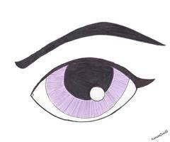 Anime-Manga Violet Eye by XenaQuill