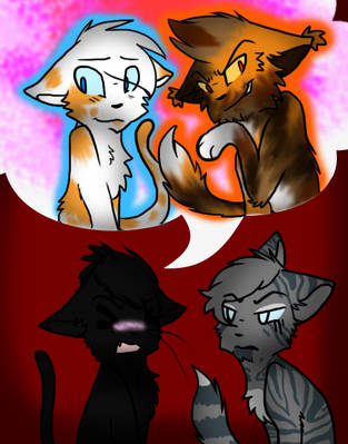 Choose one Hollyleaf by Cattypasta