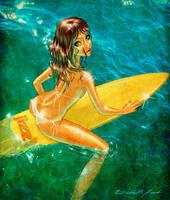 + surfergirl + by ElizabethHunt