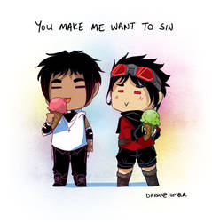 You make me want to sin by Darqx