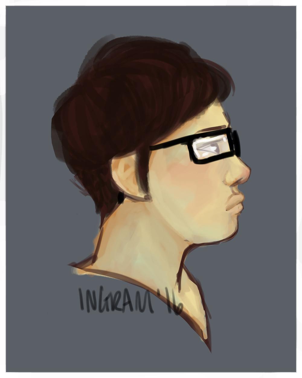 Self-face by Amyln