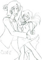 Luther and Gina Dancing by Amyln