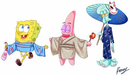 Yukata Sponge by Renny1998