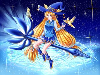 Blue witch by Renny1998