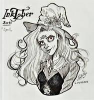 Inktober #4 - Spell by lgdcnatacha