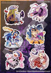 [Sample] Touhou sticker #2 by tinkatiranor