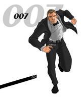 James Bond by Ferroconcrete247