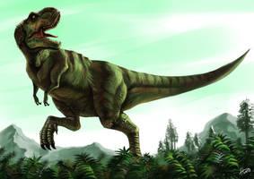 Tyrannosaurus- Rex by Ferroconcrete247