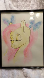 Serene and Shy- Watercolor by chipperpony