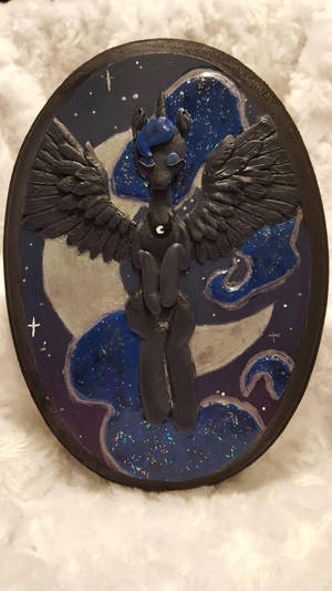 Princess of Night - Plaque by chipperpony