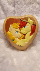 The Perfect Pear -Plaque by chipperpony