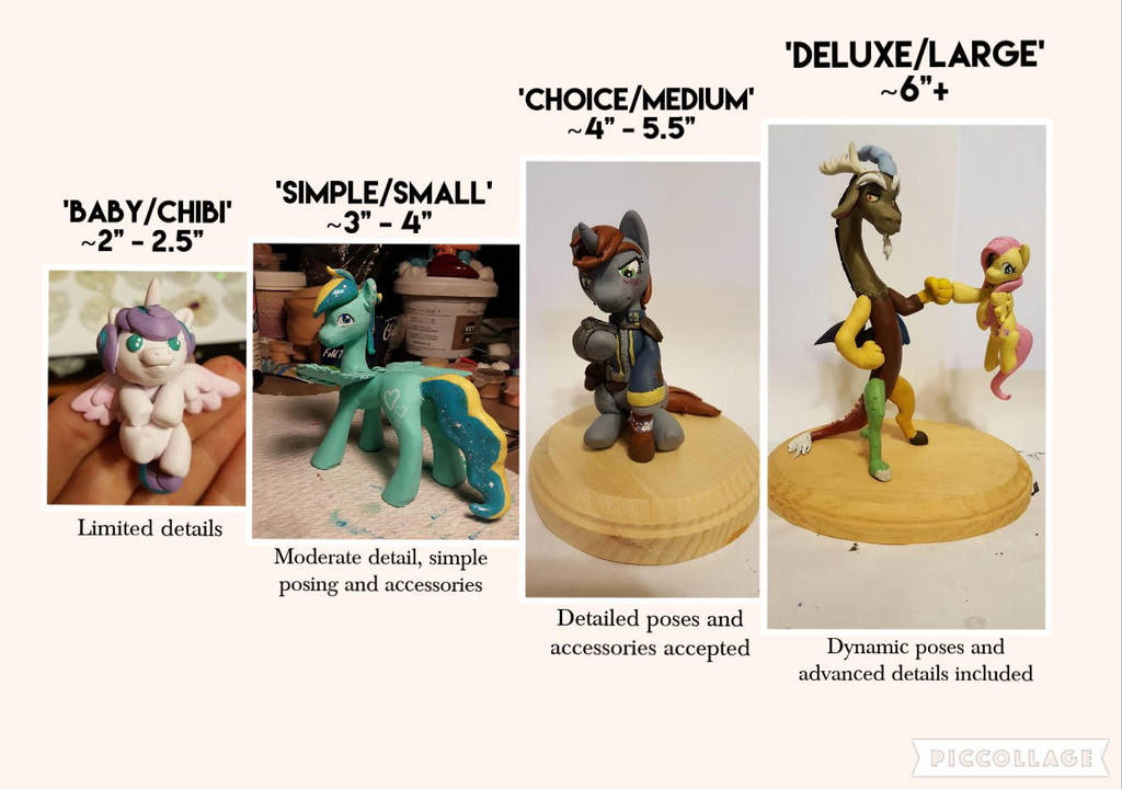 Sculpt Sizes by chipperpony