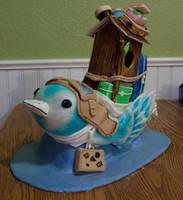 Bird cake by Trishap