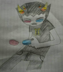 Homestuck- Sollux Captor Colored by TheAmericanGamer