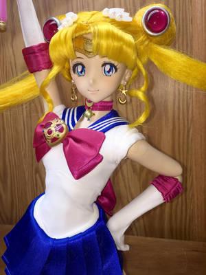Dollfie Dream Sailor Moon Custom Doll by djvanisher