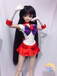 Sailor Mars - 5 by djvanisher