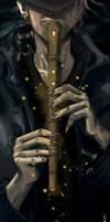 Pied Piper of Hamelin by Akai-Monkey