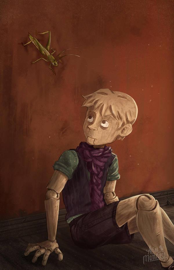 Pinocchio by Akai-Monkey