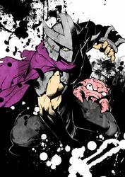 TMNT Shredder and Krang by yorozubussan