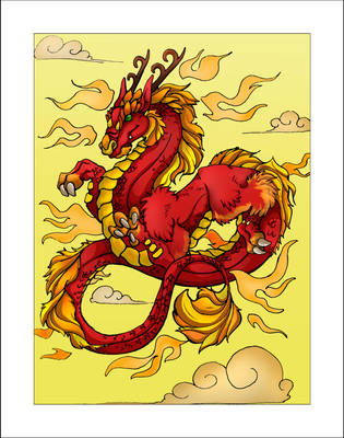 Eastern Dragon by EatsNoCheese