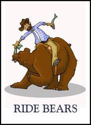Ride Bears- Devon by EatsNoCheese
