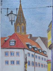 Freiburg Stadtansicht by eb4224