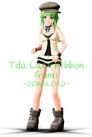 [MMD] Tda Lace Ribbon Gumi [+DOWNLOAD] by Cherii-pipa