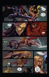 Psylocke Fight ( Marvel Comics ) Pg. 3 of 3 by RobertDanielRyan