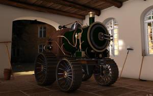 Steampunk T by jsdu19