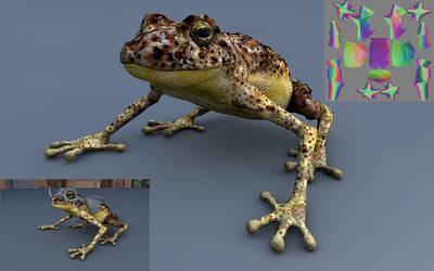 WIP amphibian alone by jsdu19