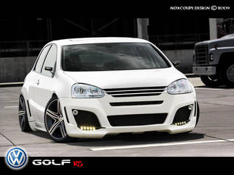 VW Golf RS by Noxcoupe-Design