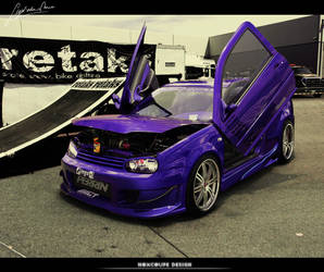 Vw Golf - Violet edition by Noxcoupe-Design