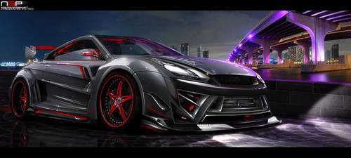 Nissan GTR - WTB '10 by Noxcoupe-Design