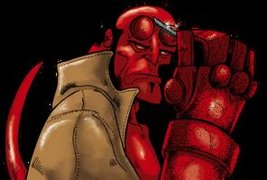 Hellboy by waltertierno