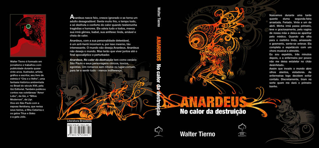 Anardeus No Calor Da Destruicao Capaaberta by waltertierno