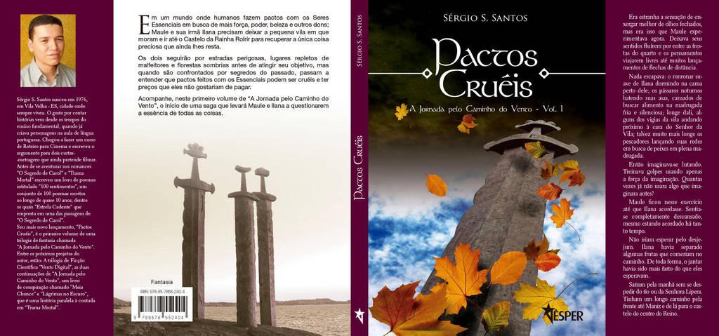 Pactos Crueis Capa by waltertierno