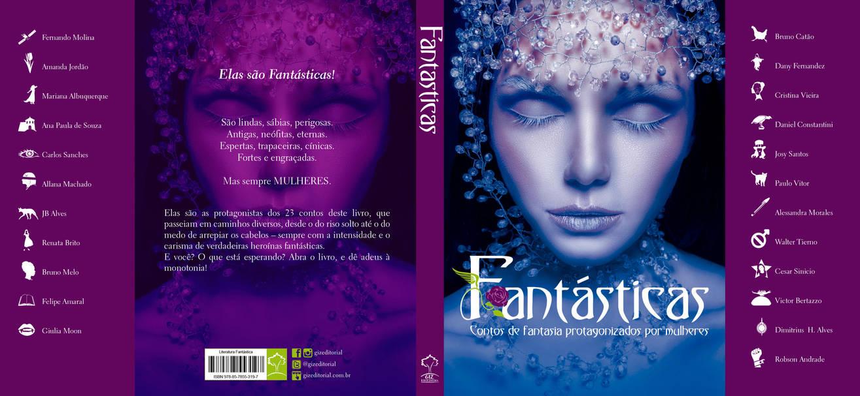 Fantasticas - Capa by waltertierno